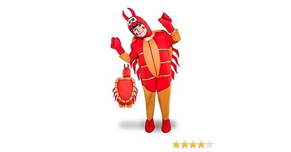Disfraz de Cangrejo para niños: Amazon.es: Juguetes y juegos