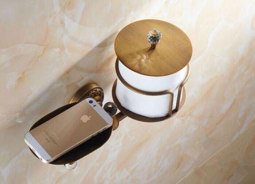 Antique Paper Holder Roll Shelf Toilet Tissue Hot sales For Bathroom Toilet by Bathroom Tissue