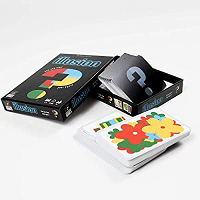 ILLUSION CARD GAME Can You Trust Your Eyes byWolfgang Warsch Pandasauras Games