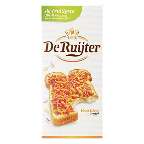 De Ruijter Fruit Sprinkles (Vruchten Hagel), 400 Gr (14.1 Oz), 1 Box