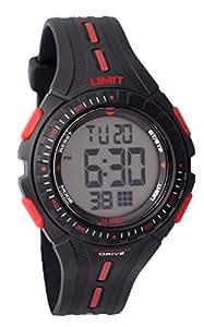 Limit 5391,56 - Reloj digital para niño, correa de plástico color negro