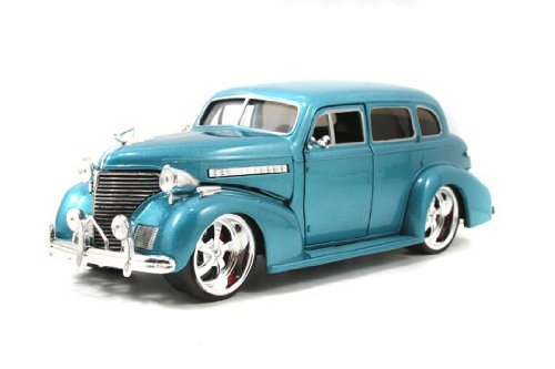 Model Chevy Deluxe (1939 Chevy Master Deluxe 1/24 Blue)