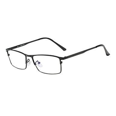 6cd1a2da773 Image Unavailable. Janjunsi Men Women Business Glasses - Anti Glare  Computer Game Eyewear Rectangle ...