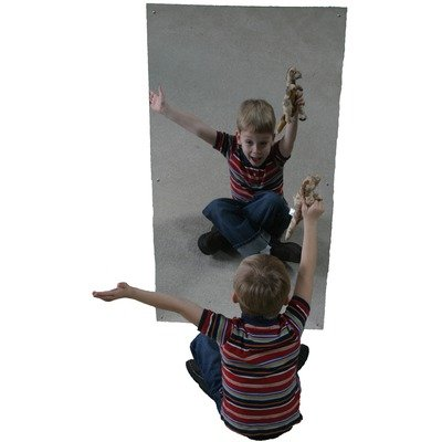 Acrylic Wall Mirror Size: 24'' x 48'' by Grantco