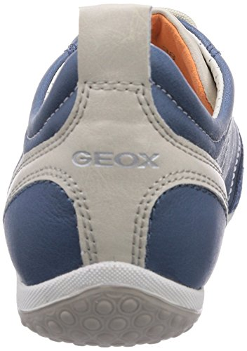 Geox Vega Basses A Denimc4008 Baskets Femme Blau TTdqrO