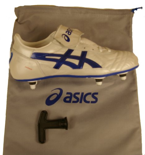 Asics , Herren Fußballschuhe Bianco - Blu