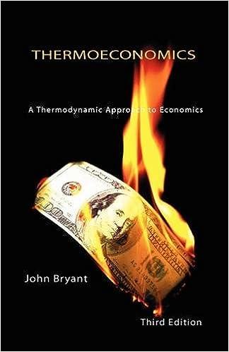 Thermoeconomics - A Thermodynamic Approach to Economics Third Edition