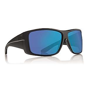 Dragon Sunglasses - Kit / Frame: Matte Black Lens: Blue Ion P2