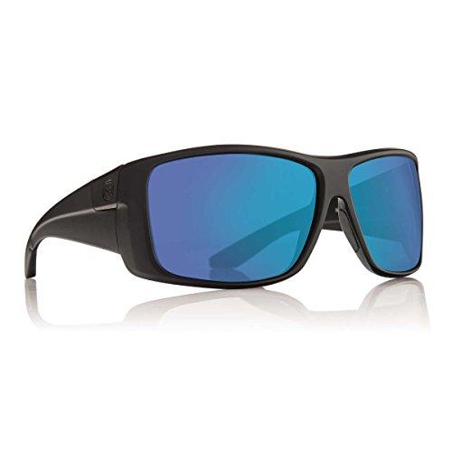Dragon Sunglasses - Kit / Frame: Matte Black Lens: Blue Ion - Sunglasses Ion