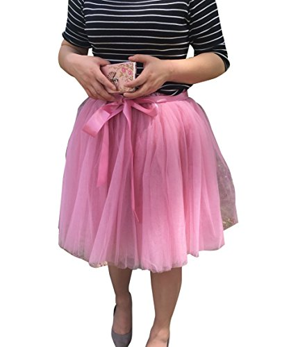 Tulle 8 Mi jupon Ballet En Jupe Pliss Petticoat Rubber Couches Tutu Rouge Femme Pettiskirt Jupon longue Jupe Courte wCqZUPPxX