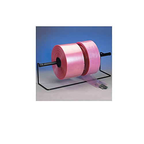 Box Pink Poly Tubing - Box King PTAS0204 Anti-Static Poly Tubing, 4 mil, 1075' Length, 2