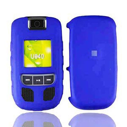 LF Hard Case Cover with Lf Stylus Pen Bundle Accessory for Verizon Samsung Convoy U640 (Blue)