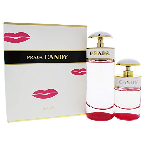 Prada Candy Kiss Women 2 Piece Travel Set (2.7 Eau De Parfum/ 1.0 Eau De -