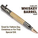 Pen Kit Mall Jack Daniels Whiskey Barrel Wood Bolt Action Ballpoint Pen