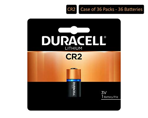 (Duracell - CR2 3V Ultra Lithium Photo Size Battery - long lasting battery (Pack of 36))