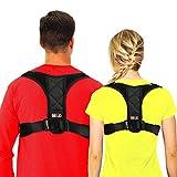 Posture Corrector for Women and Men Under Clothes, BTUP Light Breathable Back Brace for Neck Shoulder Upper Back Pain Relief, Chest Size: 27' - 38'