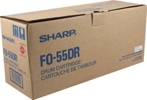 Sharp FP-55DR Laser Toner Drum, Works for FO-DC550 (Fo Dc550 Sharp)