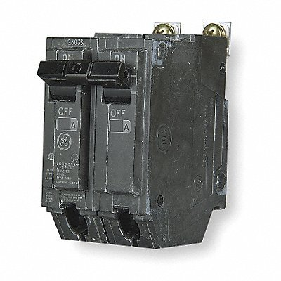 GE THHQB2120 Bolt-On Mount Type THHQB Miniature Circuit Breaker 2-Pole 20 Amp 120/240 Volt AC by GE