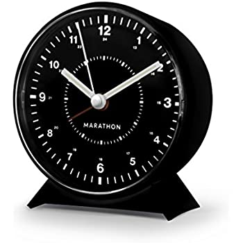 sharp quartz analog alarm clock instructions