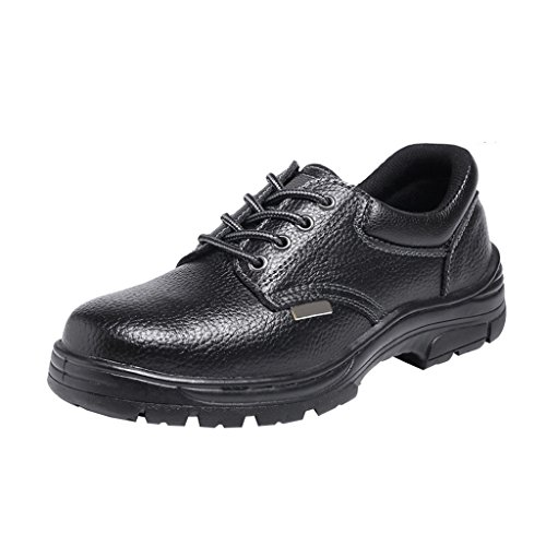 Eclimb Mens Construction Safety Shoes With Steel Toe Black 1 P94YrrFWx