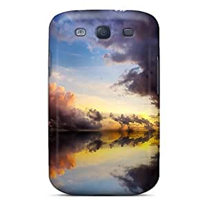 Galaxy Cover Case - Cool Clouds Sea Protective Case Compatibel With Galaxy S3