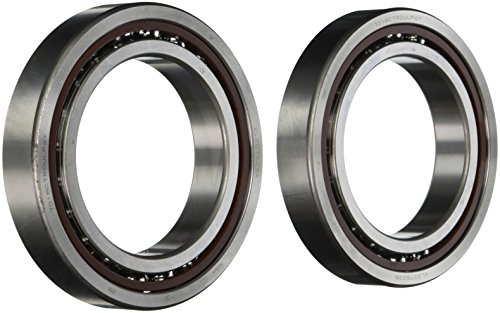 NSK 7018CTRDULP4Y Super Precision Angular Contact Bearing, 15° Contact Angle, Straight Bore, Phenolic Cage, Open Enclosure, Normal Clearance, Metric, 90mm Bore, 140mm OD, 0.945