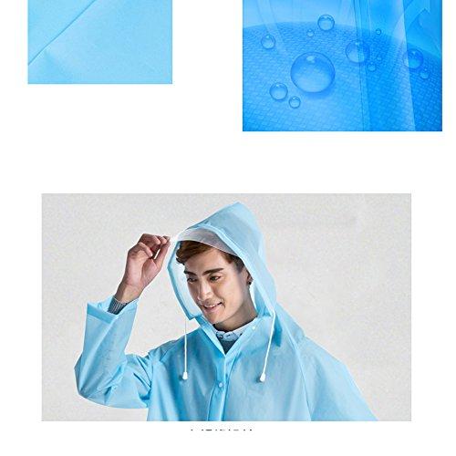 6 e D Zhihui L Travel lungo F uomini Impermeabile impermeabile poncho dimensioni per opzionali opzionale ZZHF Outdoor yuyi poncho singolo donne dimensioni Colore impermeabile colori nA1rZnp