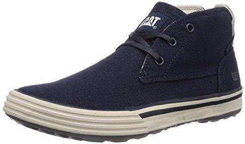Caterpillar ESTEEM MID CANVAS Herren Hohe Sneakers Blau (MENS NAVY)