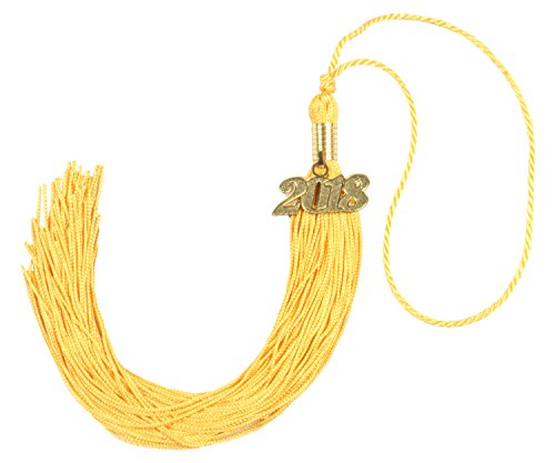 Graduation Tassel Ceremony - GraduationForYou Academic Graduation Tassel With 2016 or 2017 Year Charm As A Package, Available For Both 2016 And 2017 Graduation Ceremony