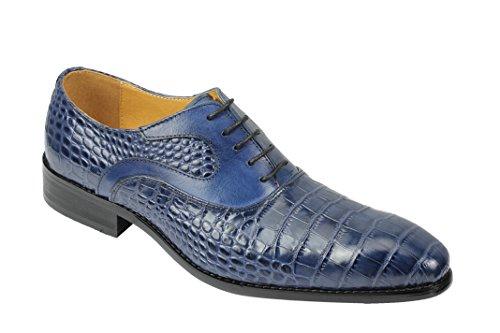 Bleu Ville Lacets Bleu Chaussures Xposed Homme à Pour de 6wFnRqv