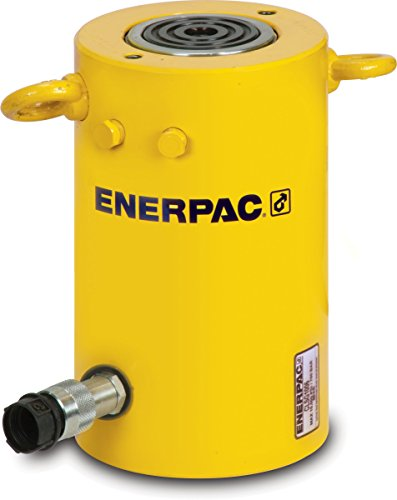 "Enerpac CLSG-1006 Single-Acting Hydraulic Cylinder with 100 Ton Capacity, Single Port, 5.91"" Stroke Length"