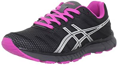 ASICS Women's Gel Speedstar 6 Running Shoe,Storm/Silver/Electric Magenta,6 M US