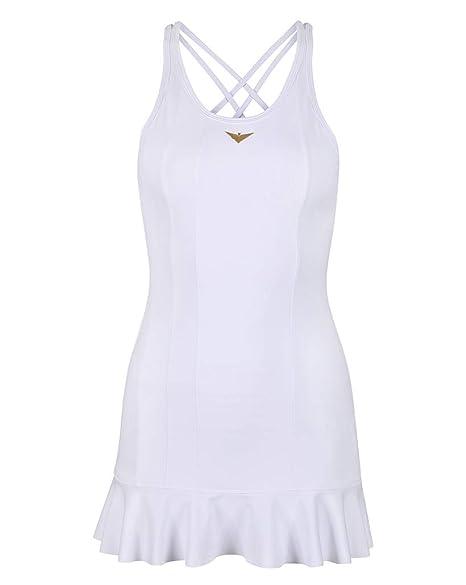 Amazon.com : Bace Girls White Tennis Dress, Girl Golf Dress, Junior Tennis Dress, Golf Dress, Kids Golf Clothing, Glrls Sportswear, Designer Tennis Dress : ...