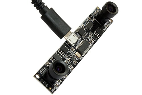 Usb Port Analyzer - ELP 1.0 Megapixel Dual Lens Usb Camera Module with Two Megapixel Lens for Person Count and Biometric Retina,dual Lens Camera Usb