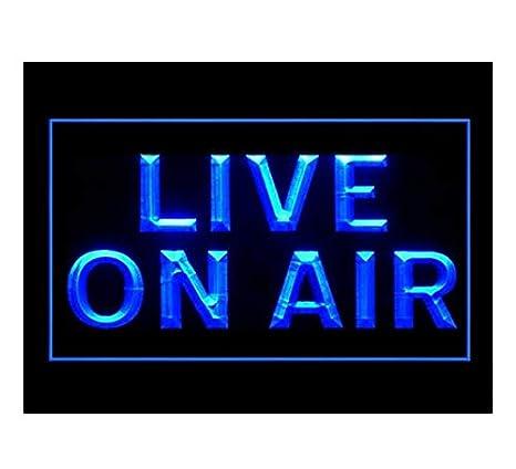 Amazon.com: Live On Air grabación de estudio nuevo luz LED ...