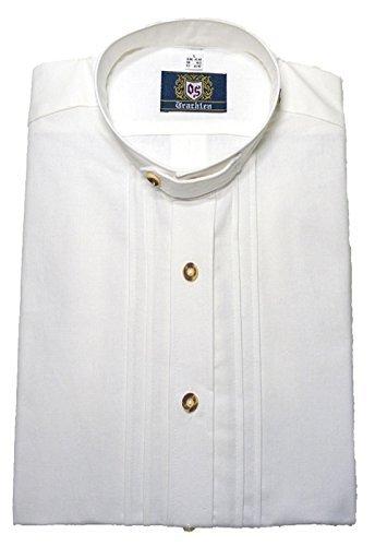 Stehkragen-Trachtenhemd weiss XXXXXL