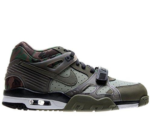 Nike Air Trainer III - Jade Stone / Black-White-Medium Olive, 9 D US
