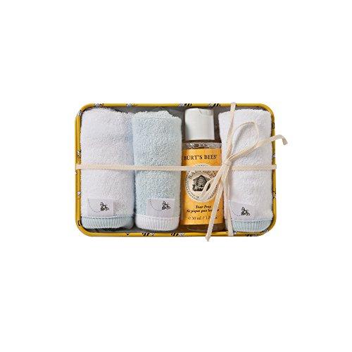 Burt's Bees Baby Organic Washtime Gift Tin, Sky