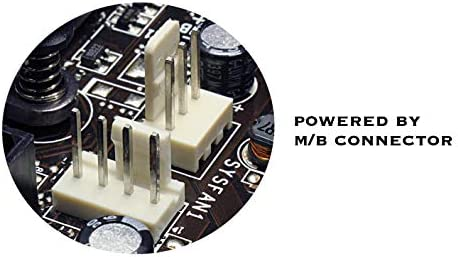 EZDIY-FAB RGB DDR Speicher RAM K/ühler K/ühlk/örper K/ühl Weste Fin Strahlung Dissipate f/ür DIY PC Spiel Overclocking MOD DDR3 DDR4-Rot-1pack