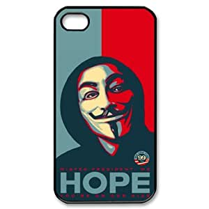 TOSOUL V for Vendetta 2 Phone Case For Iphone 4/4s [Pattern-2]