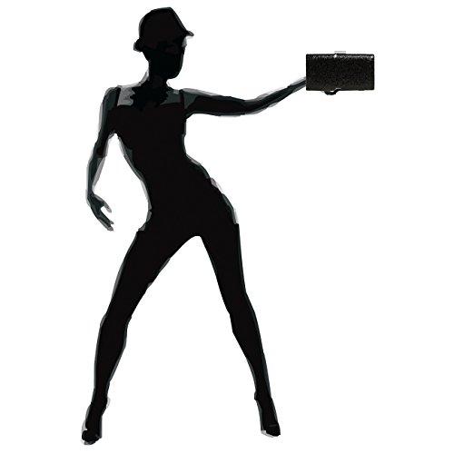 Femme À Pochette Élégante Clutch Ta340 Pour Caspar Rigide Noir Paillettes 4AFw68qx