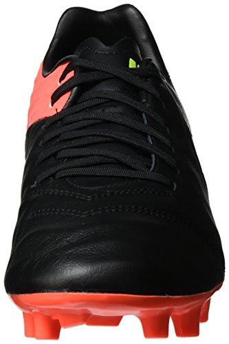 Tacchetta Da Calcio Nike Mens Tiempo Mystic V Fg Nero / Bianco Iper Arancio Volt