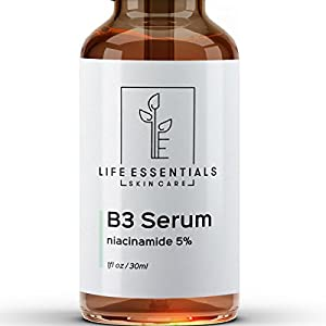 Niacinamide 5% Vitamin B3 Serum - Best Anti Aging Face Cream - Tightens Pores, Reduces Wrinkles, Boosts Collagen & Repairs Skin - 1 Oz