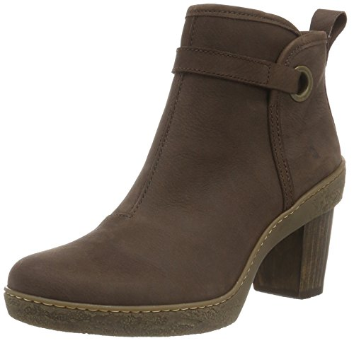El Naturalista NF71 Pleasant Lichen - Botas cortas para mujer, color Marrón (Brown N12), talla 41