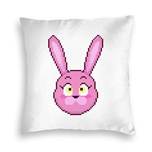 Black Rainbow Five Nights at Freddys Square Pillowcase Both Sides Print FNAN Velvet Pillow Covers Size ()