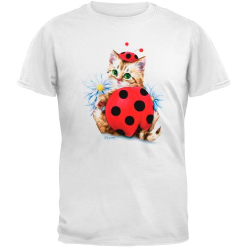 Animal World - Unisex-Child Lady in Red Youth T-Shirt - White