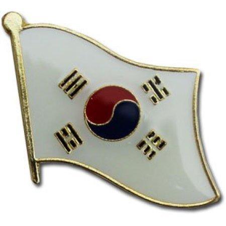Backwoods Barnaby South Korea Flag Lapel Pin/한국 국기 핀 by (Korean broach, 0.75