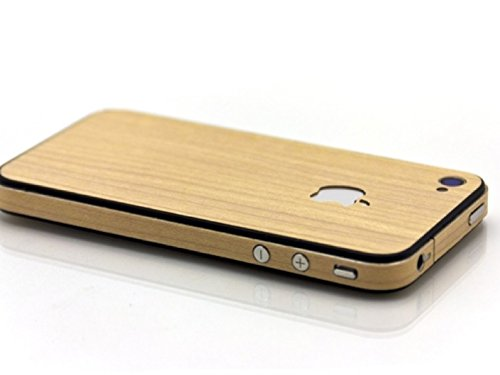 Slick Wraps Wood Skin Maple for iPhone4/4S