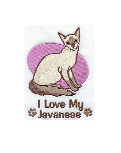 Javanese Cat Embroidered Sweatshirt ()