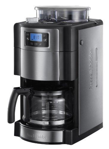 Russell-Hobbs-20060-56-Buckingham-Grind-Brew-Cafetera-de-filtro-control-digital-con-LCD-depsito-de-caf-en-grano-para-250-gr